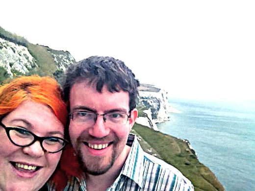 There'll be giant heads over, the white cliffs of Dover...